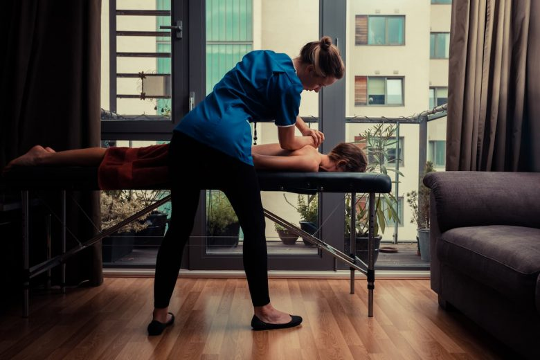 table de massage reiki